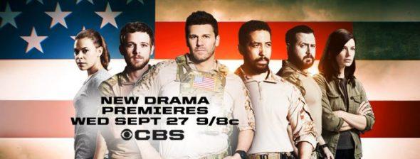 SEAL Team TV show on CBS: season 1 ratings (canceled or season 2 renewal?)