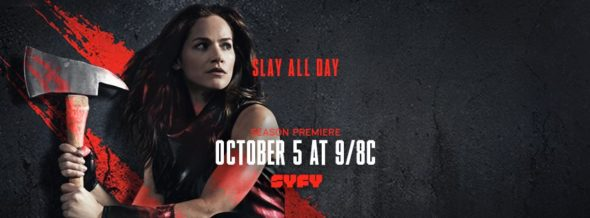 Van Helsing TV show on Syfy: season 2 ratings (cancel renew season 3?)