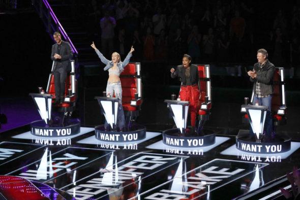 The Voice TV show on NBC: Season 13 Ratings (Tuesdays); canceled or season 14 renewal?