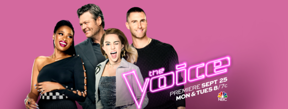 The Voice TV show on NBC: season 13 ratings (Mondays); canceled or season 14 renewal (canceled or renewed?)