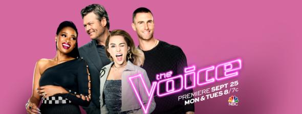 The Voice TV show on NBC: season 13 ratings (Mondays); canceled or season 14 renewal (canceled or renewed?)