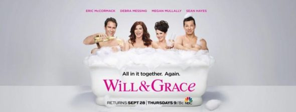 Will & Grace TV show on NBC: season 9 ratings (cancel or renew?)