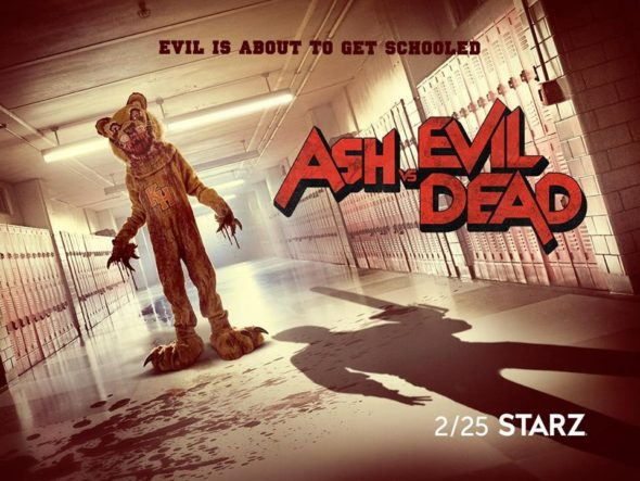 Premiere date: Ash Vs Evil Dead TV show on Starz: season 3 release date (canceled or renewed?)