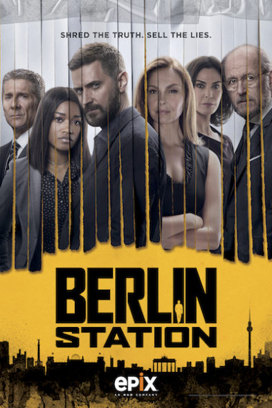 Berlin Station TV show on EPIX: canceled or season 3? (release date); Vulture Watch