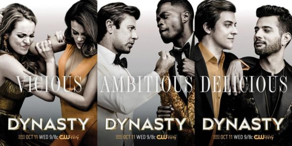Dynasty TV show on The CW: season 1 ratings (cancel renew season 2?)