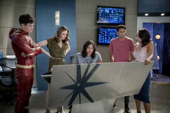 The Flash TV show on The CW: season 4 viewer votes episode ratings (cancel or renew season 5?)
