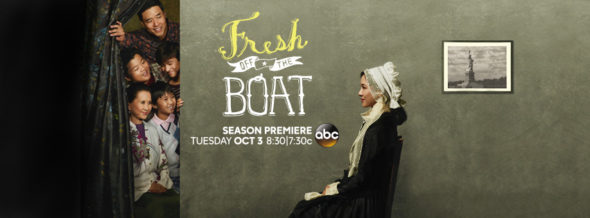 Fresh Off the Boat TV show on ABC: season 4 ratings (cancel or renew season 5?)
