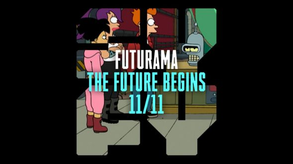 Syfy to Debut 'Futurama' on November 11