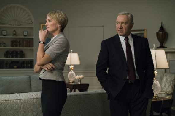 House of Cards TV show on Netflix: season 6 production suspended (no season six?)