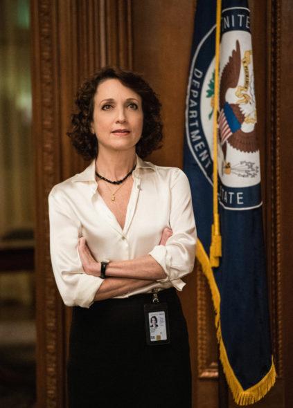 Madam secretary cbs tv show season 4 bebe neuwirth exits for Is bebe neuwirth leaving madam secretary