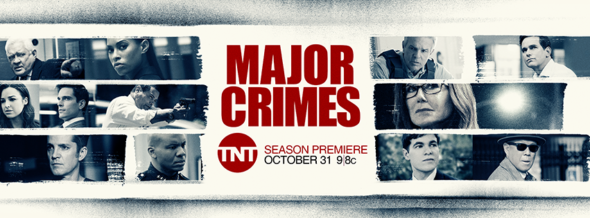 Major Crimes TV show on TNT: season 6 ratings (canceled, no season 7)
