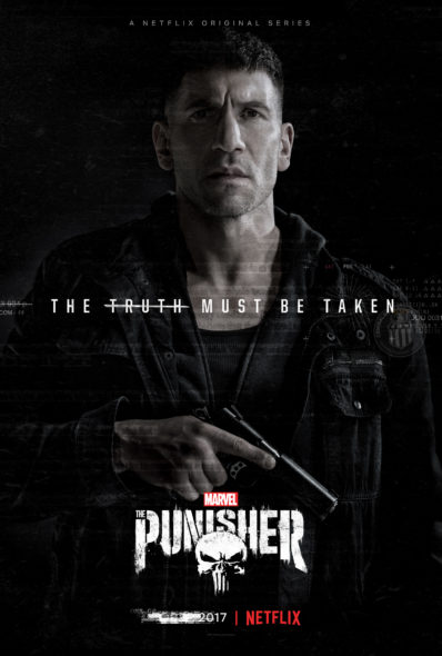 Release date: Marvel's The Punisher TV show on Netflix: season 1 (canceled or renewed?)