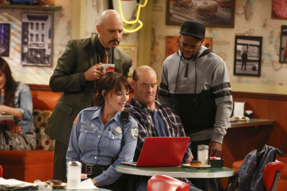 Superior Donuts TV show on CBS: season 2 viewer votes episode ratings (cancel renew season 3?)