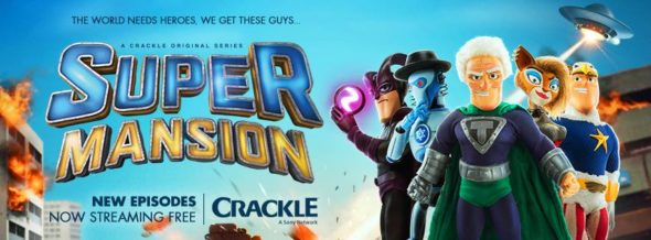 SuperMansion TV show on Crackle: canceled or season 4? (release date); Vulture Watch