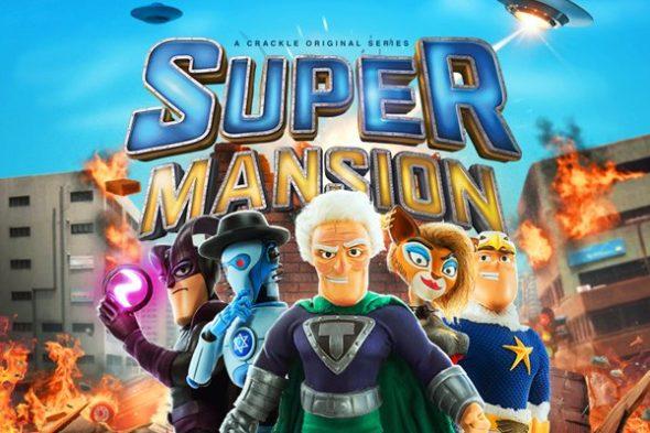 SuperMansion TV show on Crackle: canceled or renewed?