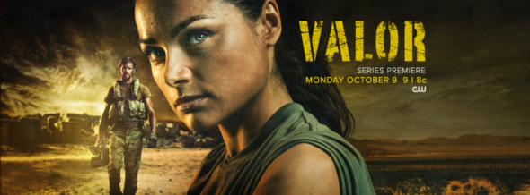 Valor TV show on The CW: season 1 ratings (cancel or renew season 2?)