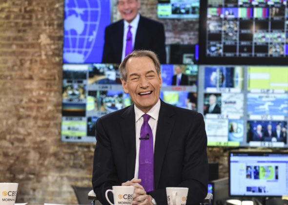 Charlie Rose TV show on PBS Cancelled; Charlie Rose fired from CBS This Morning TV show on CBS (canceled or renewed?)
