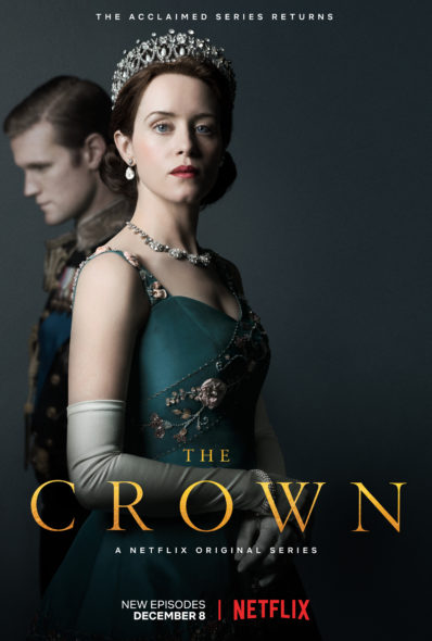 The Crown TV show on Netflix: season 2 viewer votes episode ratings (cancel or renew season 3?)