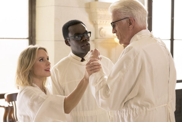 The Good Place TV show on NBC: season 3 renewal (canceled or renewed?)