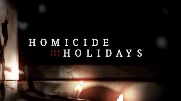 Homicide for the Holidays TV Show: canceled or renewed?