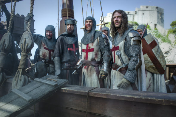 Knightfall TV show on History: canceled or renewed?