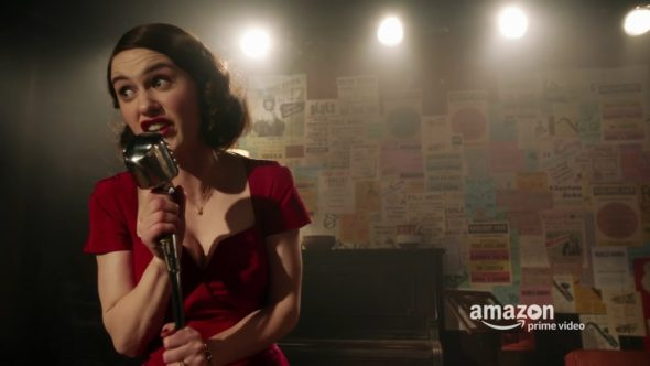 The Marvelous Mrs. Maisel TV show on Amazon: canceled or renewed?