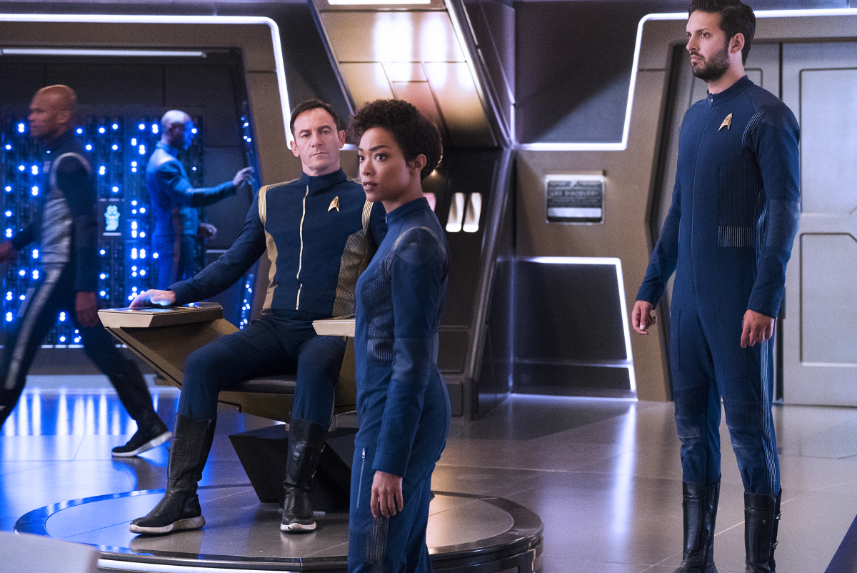 star trek discovery tv show on cbs all access chapter two release date canceled tv shows. Black Bedroom Furniture Sets. Home Design Ideas