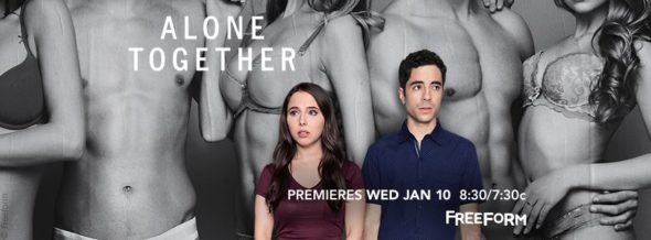 Alone Together TV show on Freeform: season 1 ratings (cancel or renew season 2?)