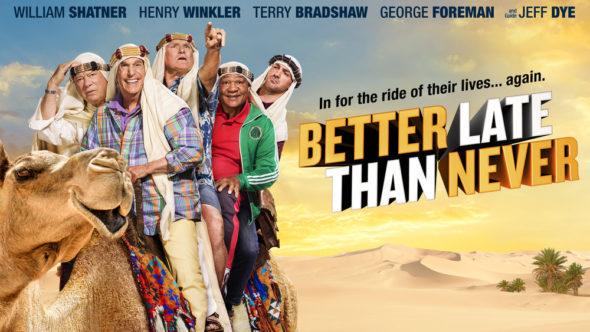 Better Late Than Never TV show on NBC: Season 2 ratings (canceled or renewed season 3?)
