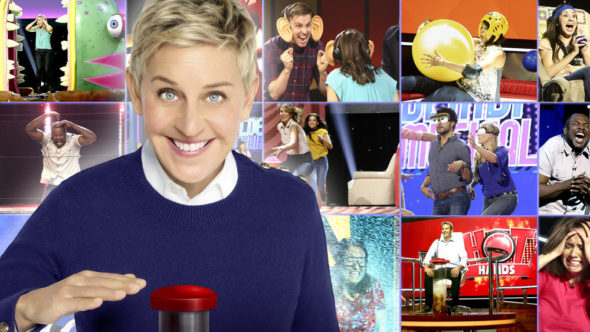 Ellen's Game of Games TV show on NBC: Season 1 (canceled or renewed?)