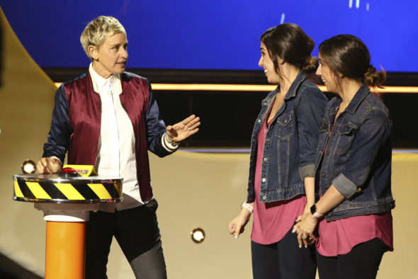 Vulture Watch: Ellen's Game of Games TV show on NBC: canceled or season 2? (release date)