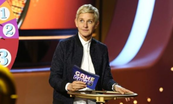 Ellen's Game of Games TV show on NBC: season 1 viewer votes episode ratings (canceled or renewed?)