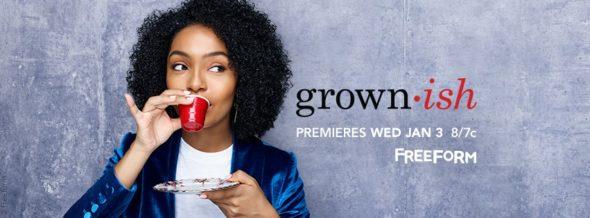 Grown-ish TV show on Freeform: season 1 ratings (cancel or renew season 2?)