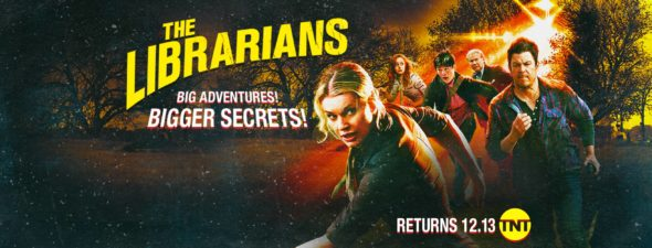 The Librarians TV show on TNT: season 4 ratings (canceled or renewed season 5?)
