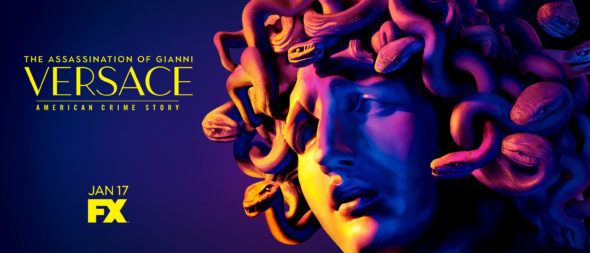 The Assassination of Gianni Versace: American Crime Story TV show on FX: season 2 ratings (cancel or renew season 3?)