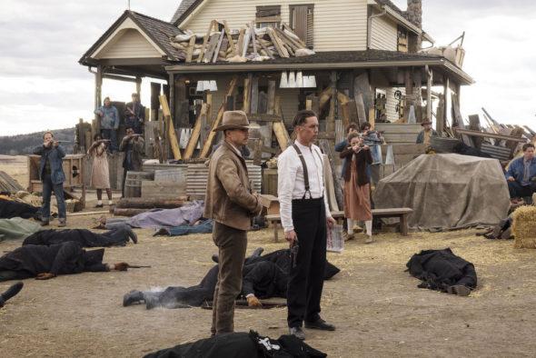 Damnation TV show on USA Network: canceled, no season 2 (canceled or renewed?)