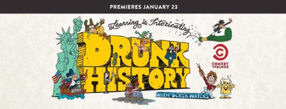 Drunk History TV show on Comedy Central: season 5 ratings (cancel or renew season 6?)