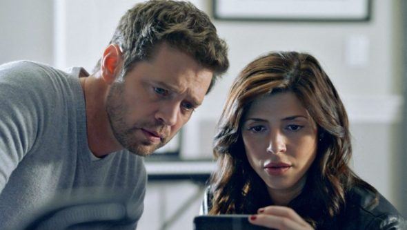 Private Eyes TV show on ION: (canceled or renewed?)