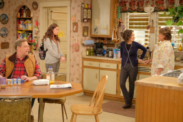 Roseanne TV show on ABC: season 10 (canceled or renewed?)