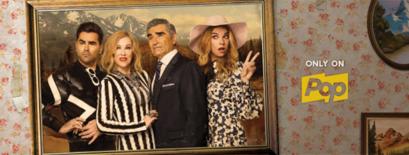 Schitt's Creek TV show on Pop: season four ratings (canceled or renewed season 5?)