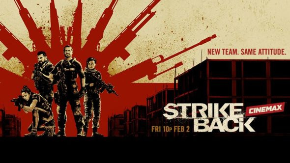 Strike Back TV show on Cinemax: season 6 ratings (canceled or renewed season 7?)
