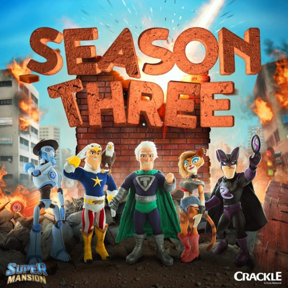 Release date: SuperMansion TV show on Crackle: season 3 (canceled or renewed?)