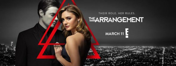 The Arrangement TV show on E!: season 2 ratings (canceled or renewed season 3?)