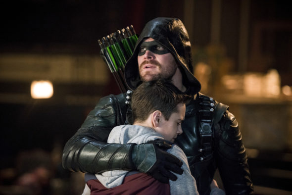 Arrow TV show on The CW: season 7 renewal (canceled or renewed?)