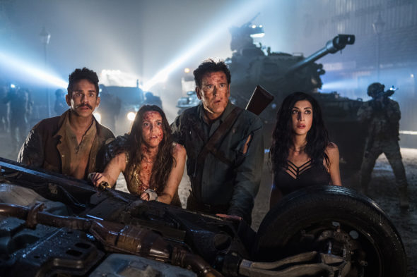 The Television Vulture is watching the Ash Vs Evil Dead TV show on Starz: canceled or season 4? (release date); Vulture Watch
