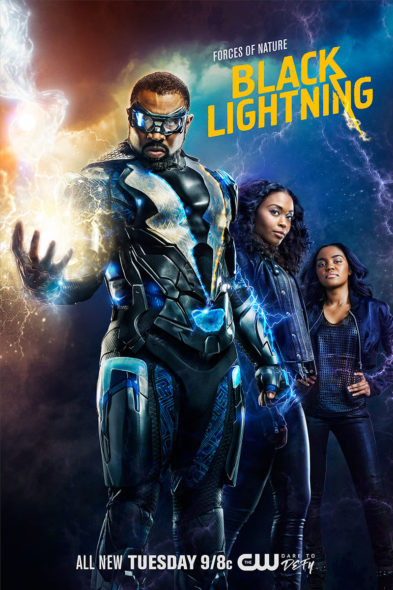 Black Lightning TV show on The CW: season 2 renewal (canceled or renewed?)