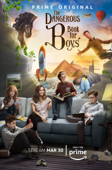 TV series premiere date: The Dangerous Book For Boys TV show on Amazon: season 1 (canceled or renewed?)
