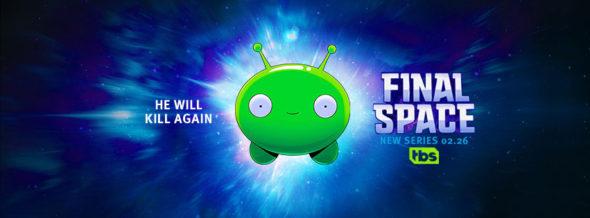 Final Space TV show on TBS: season 1 ratings (cancel or renew season 2?)