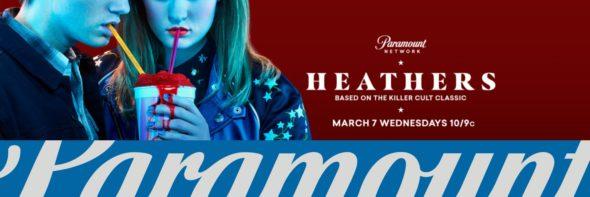 Heathers TV show on Paramount Network: season 1 ratings (cancel or renew season 2?)