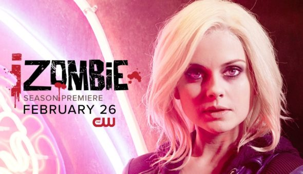 iZombie TV show on The CW: season 4 ratings (cancel or renew season 5?)
